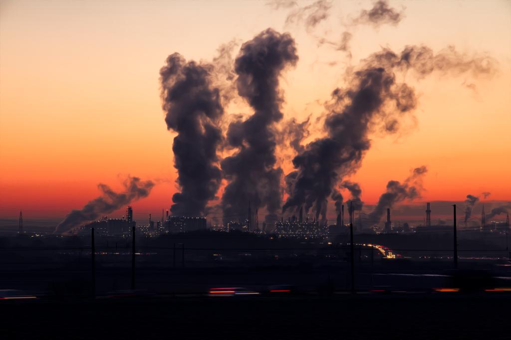 В Ростовской области увеличилось количество вредных выбросов в атмосферу